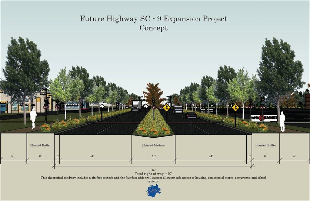 Future Highway SC-9 Expansion Project Concept