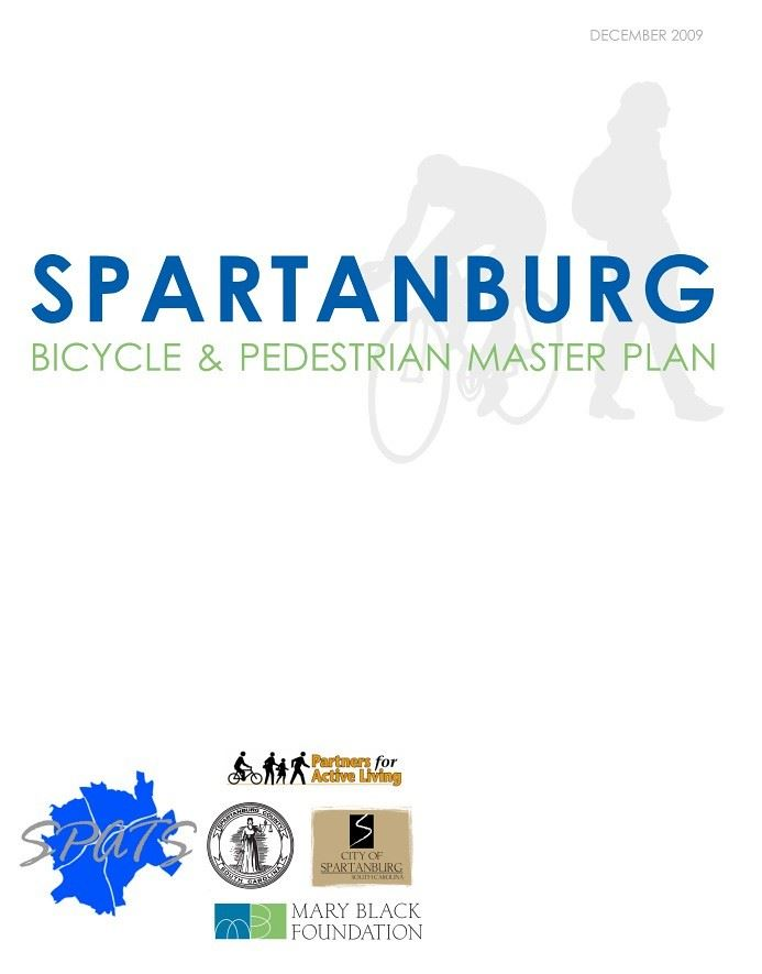 Spartanburg Bicycle and Pedestrian Master Plan (PDF) Opens in new window